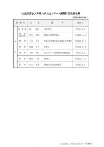 令和2年6月8日 役員名簿のサムネイル
